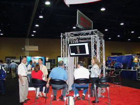 EAD/2 Booth at 2010 NASCC Conference