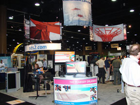 SDS/2 Booth at 2010 NASCC Conference